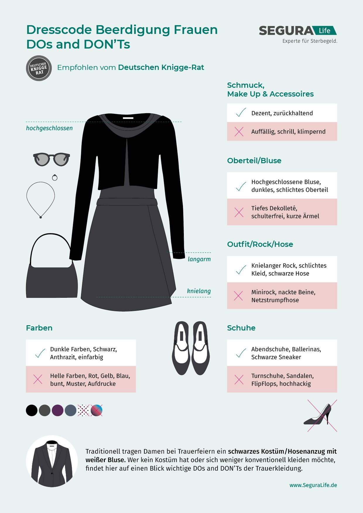 beerdigung kleidung & outfit » passende trauerkleidung wählen